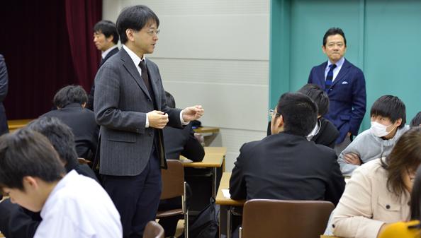 隅田教授による説明